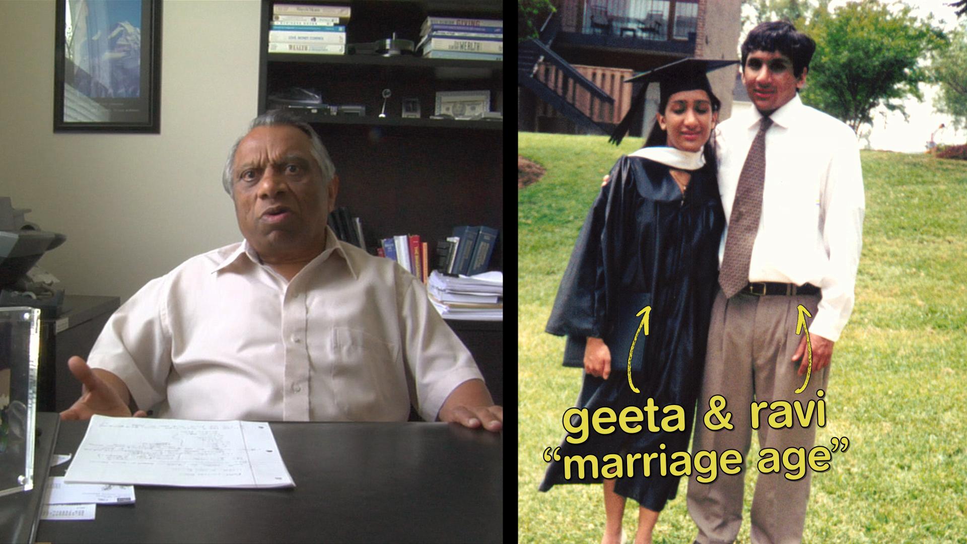 Meet the Patels Geeta Patel Ravi Patel