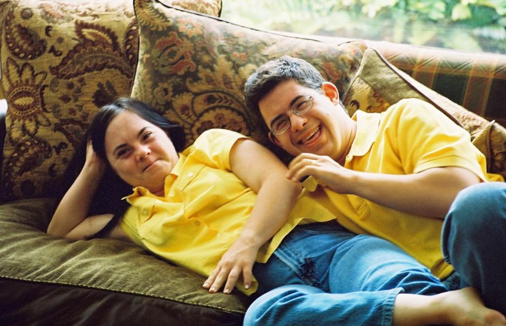Monica and David Alexandra Codina