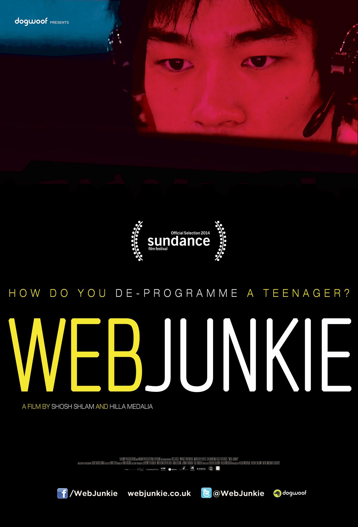 Web Junkie Shosh Shlam and Hilla Mendalia