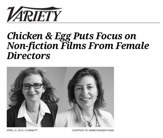 Chicken & Egg Pictures Variety Feature