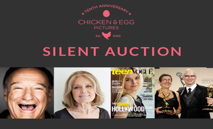 Chicken & Egg Pictures 10th Anniversary Silent Auction