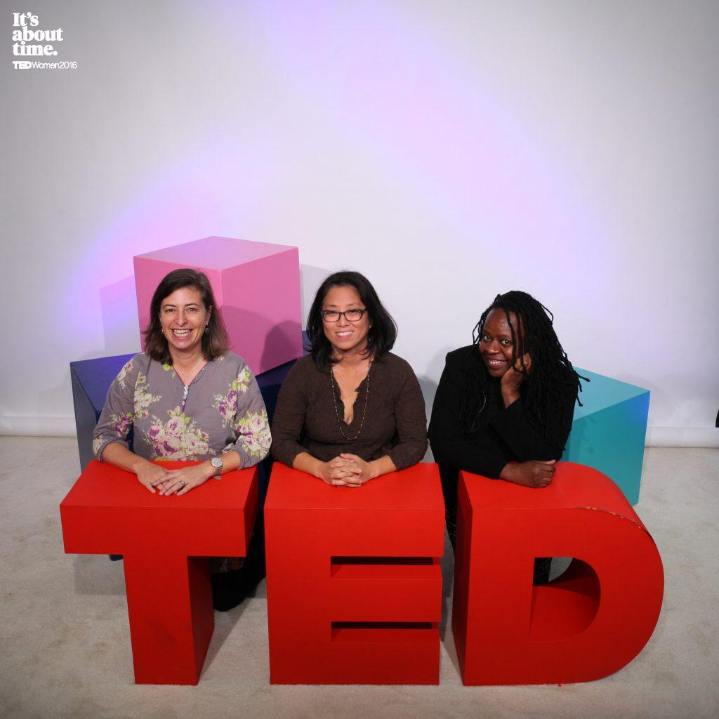 TEDWomen 2016 Yvonne Julie Grace