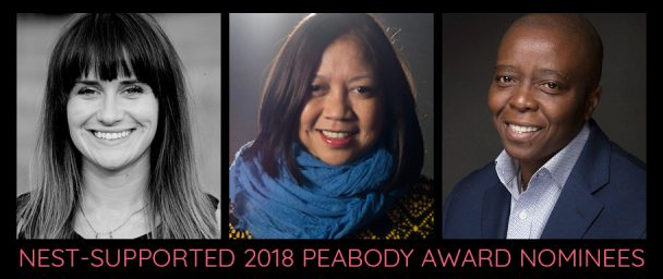 2018 Peabody nominees (left to right): Elaine McMillion Sheldon, Ramona Diaz, Yance Ford